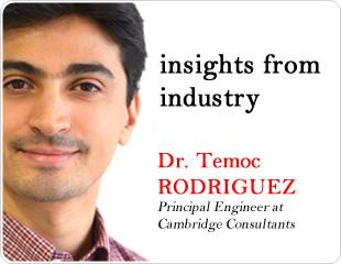 Fringe Effect Level Technology: An Interview with Dr. Temoc Rodriguez at Cambridge Consultants