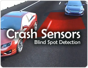 Vehicle Crash Sensors: Blind Spot Detection